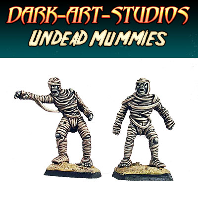 2x Undead Mummies - *Pre order 15.10.12* - Click Image to Close