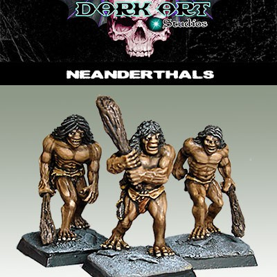 neanderthals----painted