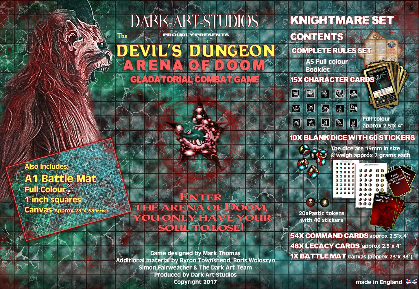 Devil's Dungeon - Nightmare Creatures by Dark-Art-Studios